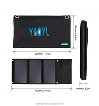 Customized professional solar power panel phone case carry bag