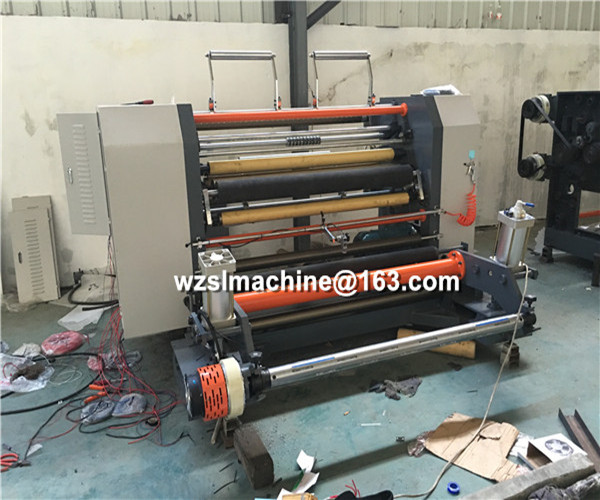 High efficiency full Automatic slitting and rewinding energy saving stretch film machine