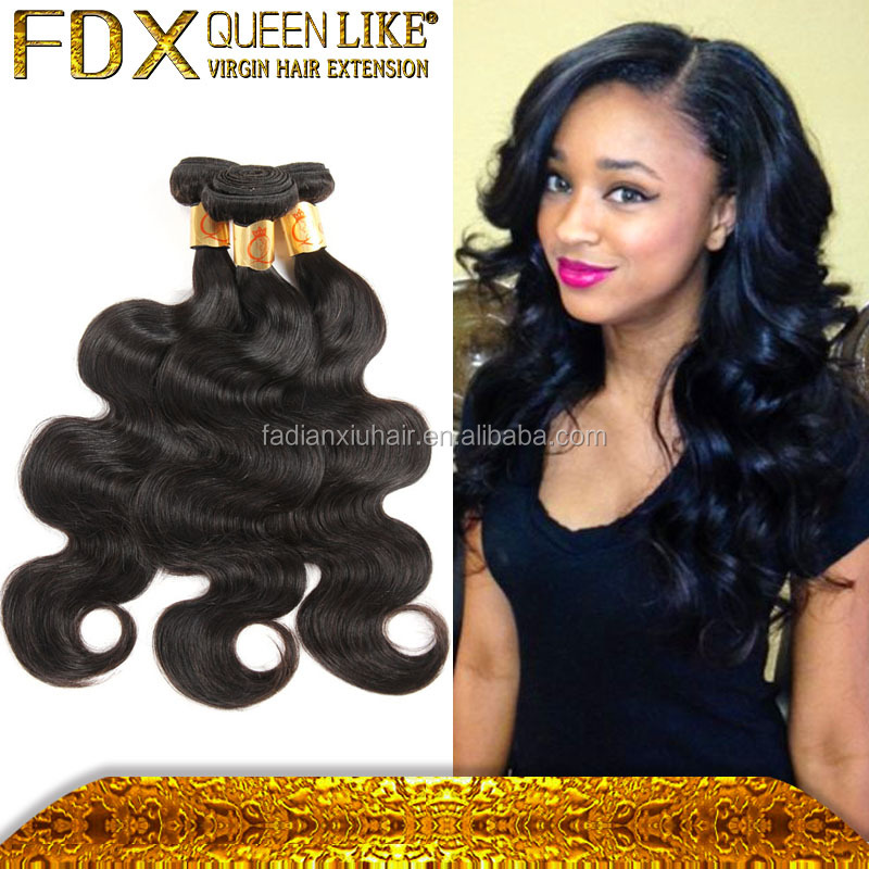 High quality unprocessed brazilian virgin human hair wholesale latest free weaves in kenya remy hair bundle
