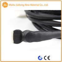 PVC Outer Insulation water pipes ice melt electric heat trace cable