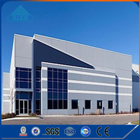 Two Story Low Cost Quick Build Prefabricated Steel Structure Warehouse for Sale