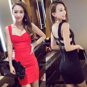 Sexy Women's Summer Casual Sleeveless Evening Party Bandage Dress Short Mini Dress