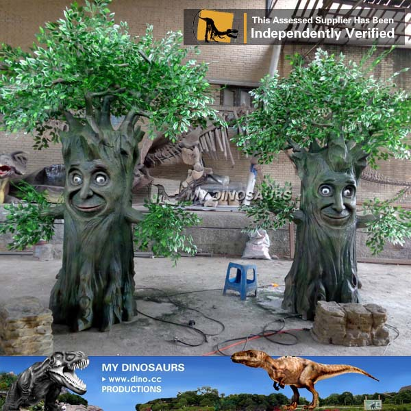 My Dino A20 Outdoor Park Realistic Talking Tree With Face   Buy ...