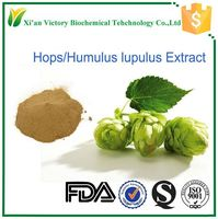 GMP certified female sex increase medicine hops extract powder