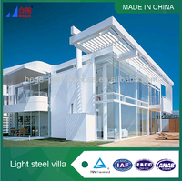 hign quality movable prefabricated steel house