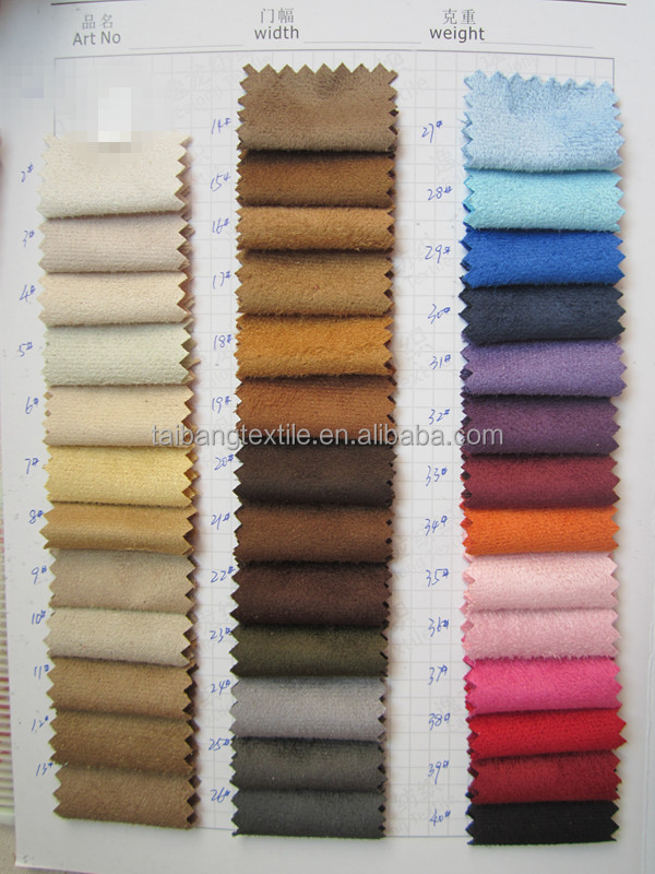 popular faux suede fabric for boots/uggs/bags and etc.