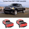 pickup truck accessories folding Soft tonneau cover for 2007-11GMC sierra2500