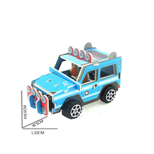 Promtional gift 1:32 paper toy pull back car model,paper diecast classic car model