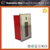 Fire protection metal cabinet for fire hose