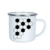 2018 China supplier top selling 8cm world cup custom decals print camping coffee enamel mugs in Germany