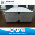 Factory composite metal insulated foam eps sandwich panel for cleanroom and cold room