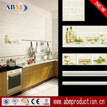 ceramic bathroom wall tile borders grade AAA