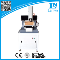 LN 3030 portable desk jewelry/ gold/ silver drilling mini desktop cnc router CNC engraving machine