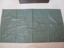 green pp woven bag 55*95cm for garbage