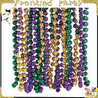 wholesale many color mardi gras beads FGMG-0107