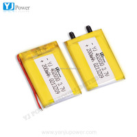 High quality 402030 li polymer batteries/3.7v 200mAH lithium ion battery/battery for camera pen