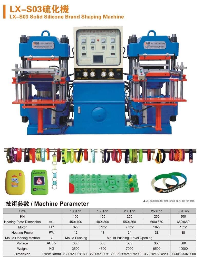 Professional Silicone Rubber Bracelet Making Machine Leading <strong>Manufacturing</strong> 24 Years
