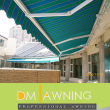 Heavy duty balcony outdoor waterproof retractable awning