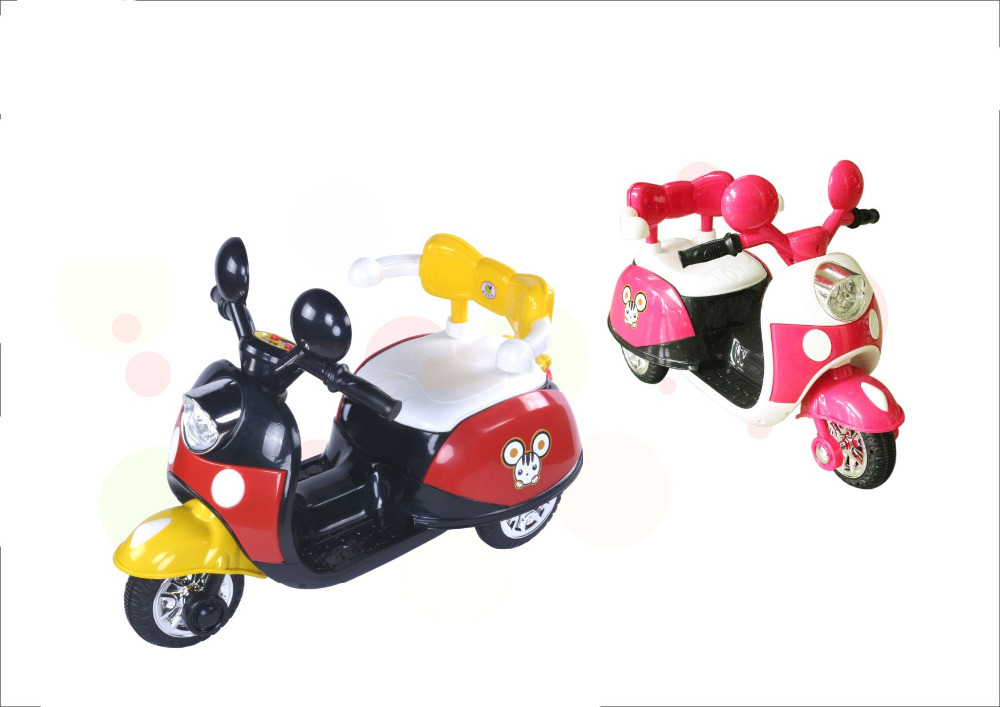 6V 3.5Ah rechargeable battery motorcycle ride on toy for 3-5 years old children