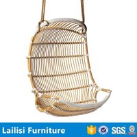 Indian furniture swing bamboo rocking chairs with string