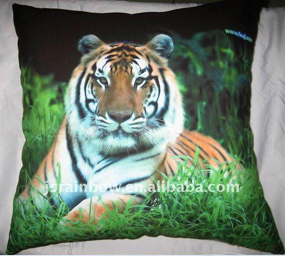 100%cotton sublimation printed cushion cover sublimation printed pillow case