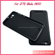 Factory wholesaler mobile phone case cover for ZTE Blade A610 pudding tpu gel case for ZTE Blade A610