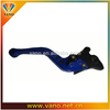 Modify CNC Milled Parts aluminum Scooter Hand Brake Lever adjustable extendable folding Pulsar 220 motorcycle brake lever