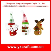 Christmas decoration (ZY14Y473-1-2-3 16CM) christmas small figure decoration, christmas small item, christmas tree hanging item