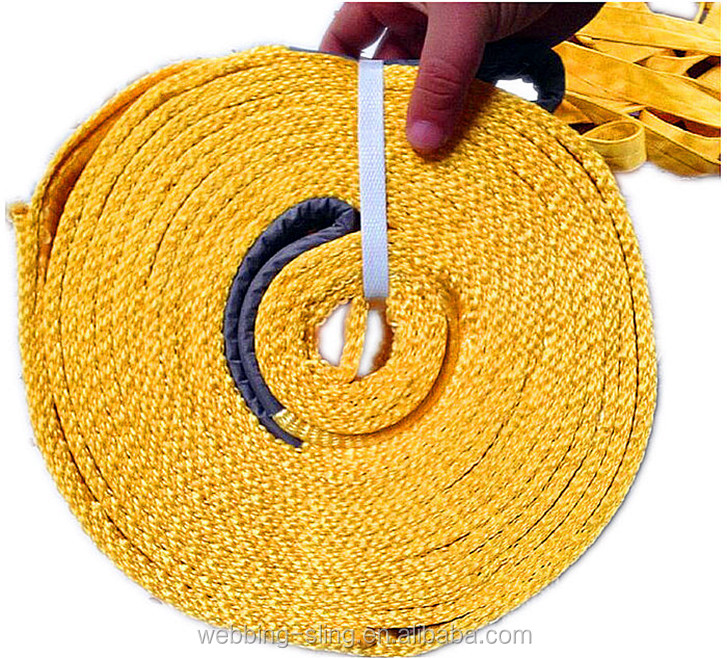 15ton Tapered Eye of Tow Rope for Truck