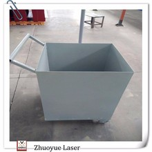 China Oem/Odm Metal garbage trolleys With Wheels