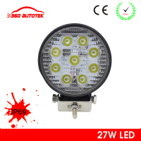 10W,15W,18W,27W led work light lamp magnetic base car led driving light