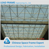 Light Steel Structure Space Frame Hotel Lobby Roof