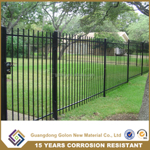 Garden decor antique wrought iron fence panels, cheap prefab fence panels, prefabricated steel fence
