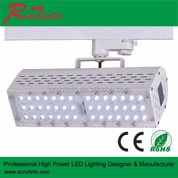 2015 big selling in led market high quality indoor IP44 led track spot light 50 watt