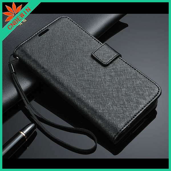 2014 new product leather flip case for blackberry z10