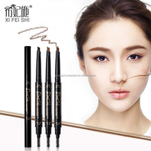 Eye Brow Waterproof Pencil Double Ended With Brush 2 In 1 Eyebrow Pencil