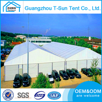 Guangzhou Industrial Tent Warehouse Insulated Steel