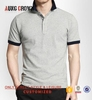 100% Cotton Men Blank Polo Shirt Fashion Printed Your Own Design Oem