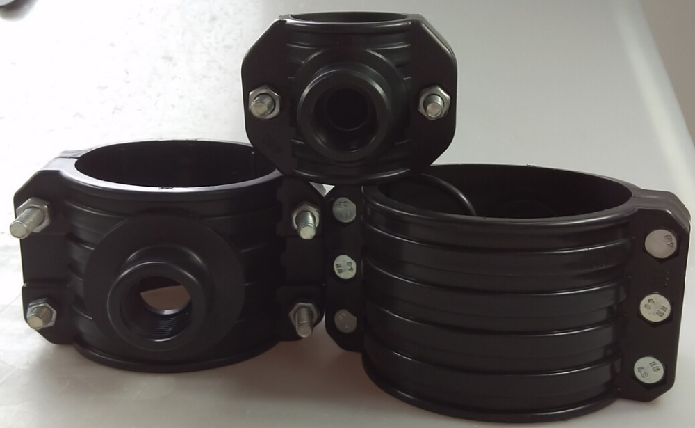 Cheap and good quality hdpe pvc pipe fitting saddle