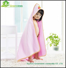 Wholesale logo embroidery 100% bamboo kids babies hooded towel,Terry Hooded Baby Bath TowelsGVHLY2202