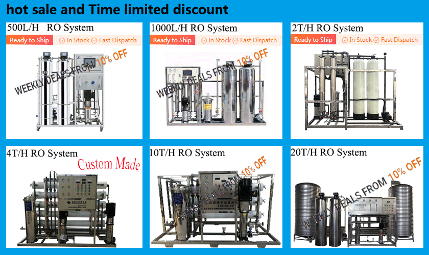 1000L/Hour RO water plant, RO water treatment Machine Price of Water Station