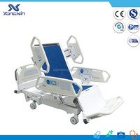 YXZ-C801 CPR function used nursing home 8 functions intensive care unit bed electric tilting hospital beds