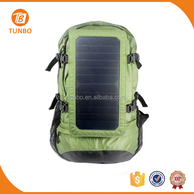 Waterproof Power Charger Panel Solar Hiking backpack lunch box