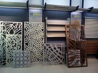 high precision laser cut screens&panel &metal sheet with multi-function