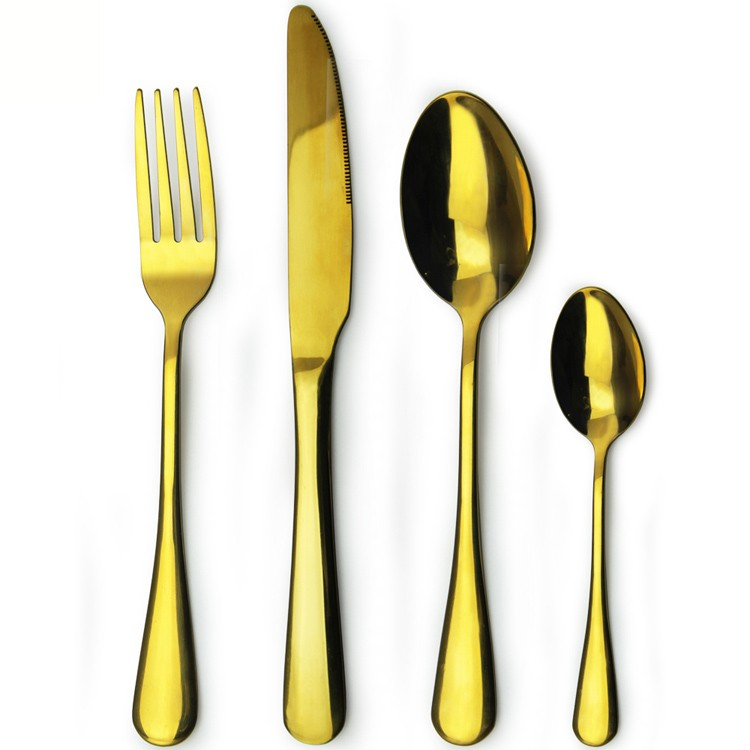 cheap restaurant dinnerware Stainless steel flatware set