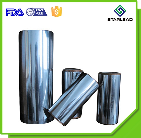Thin aluminum evaporating coated film metalized PET polyester film for lamination