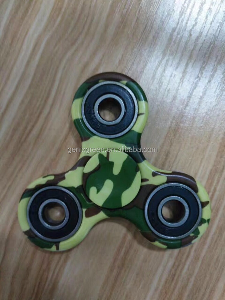 2017 High Quality Cheap Factory Price Wholesale Fidget Spinner Camouflage Anti stress