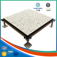 HC/C 100% recyclable good flatness aluminum honeycomb pvc raised floor
