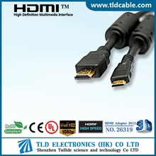 Mini HDMI - HDMI Male to Male Full HD Cable with Ferrites Cores