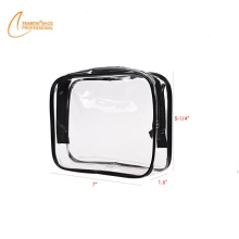 Outdoor Travel Use Transparent Cosmetic Bag PVC Toiletry Bag Travel Case